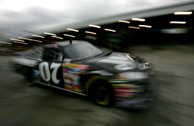 Clint Bowyer, driver of the #07 Jack Daniel