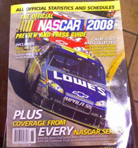 The Official NASCAR 2008 Preview and Press Guide