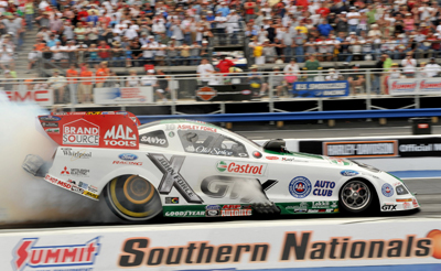Ashley Force's Funny Car at Atlanta (Photo Courtesy of NHRA)