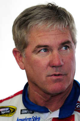 Two-time NASCAR Sprint Cup Series champion Terry Labonte tests the No. 45 Petty Enterprises Dodge during NASCAR Sprint Cup Series testing at Pocono Raceway on Wednesday (Photo Credit: Rusty Jarrett/Getty Images for NASCAR)