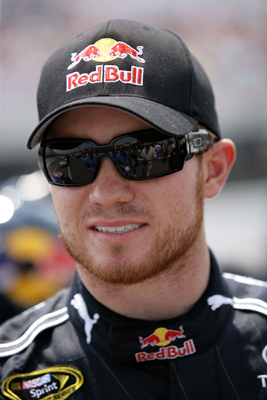 Brian Vickers finished second in the Pocono 500 NASCAR Sprint Cup Series race at Pocono Raceway, moving up two spots to 17th in driver standings (Photo Credit: Chris Trotman/Getty Images for NASCAR)