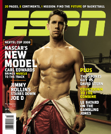 ESPN The Magazine - Carl Edwards Cover