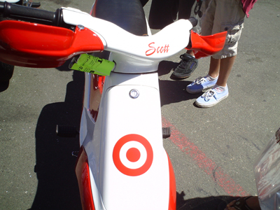 Scott Dixon bike/scooter