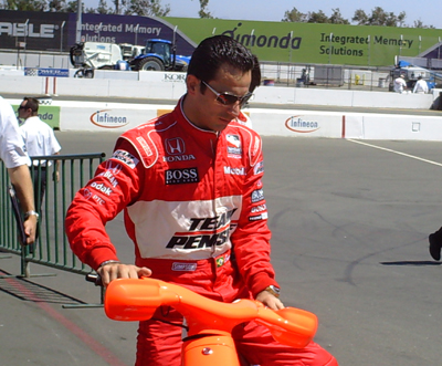 Helio Castroneves (photo credit: The Fast and the Fabulous)