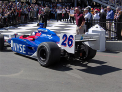 Marco Andretti enters victory lane at Infineon Raceway back in 2006 (photo credit: The Fast and the Fabulous)
