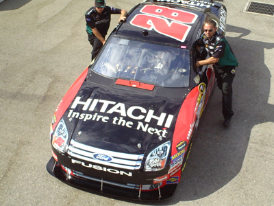 Travis Kvapil's No. 28 Car
