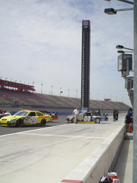 Auto Club Speedway in Fontana, California (photo credit: The Fast and the Fabulous)