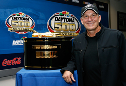 Three-time Daytona 500 winner Dale Jarrett (Photo Credit: Rusty Jarrett / Getty Images for NASCAR)