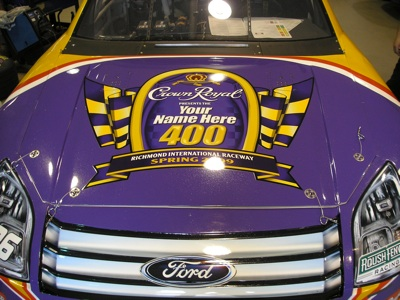 Jamie McMurray's No. 26 Crown Royal Ford Fusion