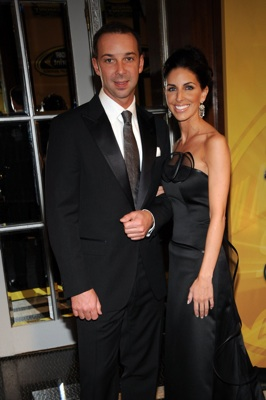 Champion crew chief Chad Knaus escorts his guest Lisa Rockelmann at the NASCAR Sprint Cup Series Awards Ceremony at the Waldorf=Astoria in New York City. (Photo Credit: Brad Barket/Getty Images for NASCAR)