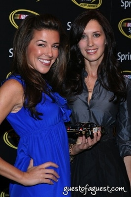 Miss Sprint Cup - Monica Palumbo (left) and Anne-Marie Rhodes (right)