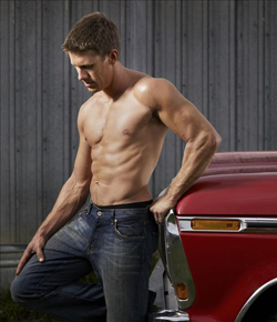 Carl Edwards in ESPN The Magazine's Body Issue (Photo credit: Sarah A. Friedman, ESPN The Magazine)