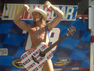 NYC's Naked Cowboy (photo credit: Andrew Giangola)
