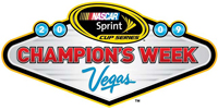 2009 NASCAR Champion's Week in Las Vegas Logo
