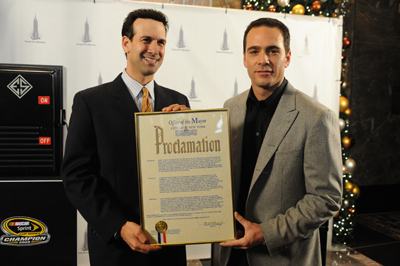 Kenneth J. Podziba, Sports Commissioner of New York City, proclaims Tuesday, Nov. 24