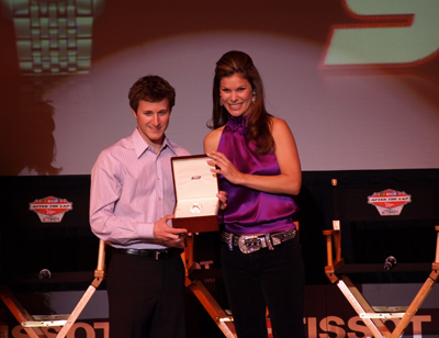 Jamie Little and Kasey Kahne (photo credit: The Fast and the Fabulous)