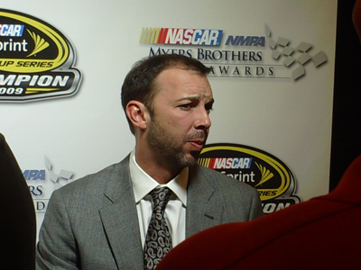 Chad Knaus (photo credit: The Fast and the Fabulous)