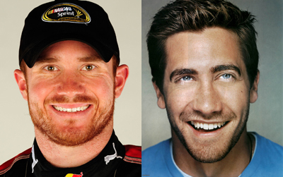 Brian Vickers (left) and Jake Gyllenhaal (right)