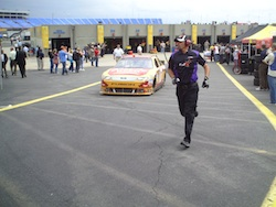 Matt Kenseth takes his No. 17 Jeremiah Sweet Tea Vodka Ford Fusion out for practice at Charlotte Motor Speedway on Saturday, May 29, 2010 (photo credit: The Fast and the Fabulous)