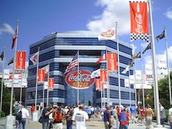 Charlotte Motor Speedway all set for the Coca-Cola 600 on Sunday, May 30th, 2010 (photo credit: The Fast and the Fabulous)