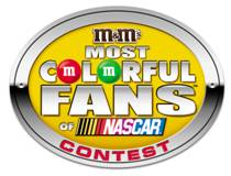 M&M'S Most Colorful Fans of NASCAR Contest logo