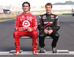 Dario Franchitti and Will Power are still battling for the 2010 IZOD IndyCar Championship. There's only one race left!