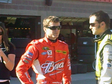 Kasey Kahne and Paul Menard