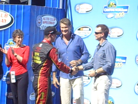 Carly Fiorina, David Hasselhoff, Michael Annett, Phil Keoghan