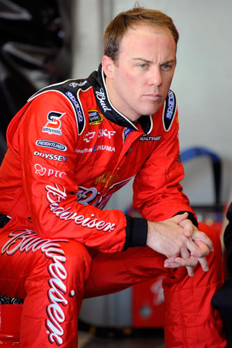 A new look Kevin Harvick participates in testing Thursday at Daytona International Speedway in Daytona Beach, Fla. (Credit: Jared C. Tilton/Getty Images for NASCAR)