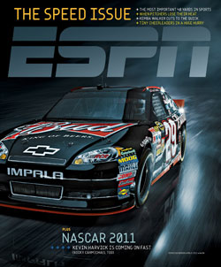 ESPN The Magazine - Speed issue 2011
