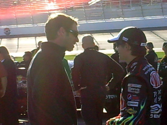 Scott Lagasse Jr and Jeff Gordon