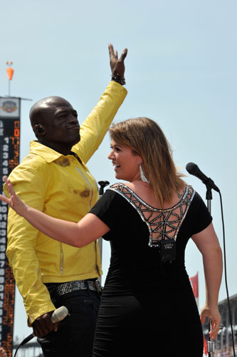 Seal &amp; Kelly Clarkson