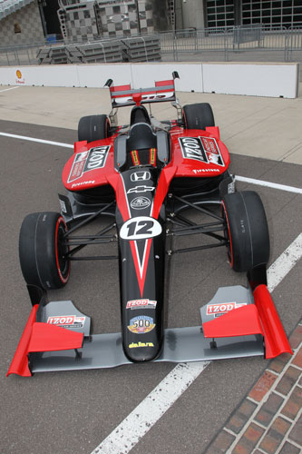 The 2012 IZOD IndyCar Series concept cars