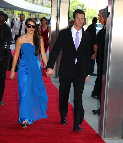 Danica Patrick and her husband, Paul Hospenthal
