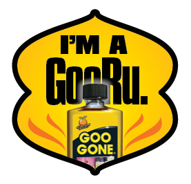 Goo Gone GooRu badge