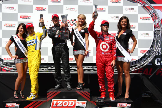 Helio Castroneves, Dario Franchitti, Will Power