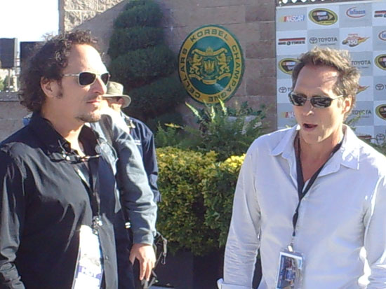 Actors Kim Coates (left) and William Fichtner (right)