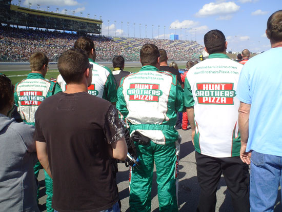 Hunt Brothers Pizza Racing