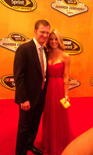 Dale Earnhardt Jr & Amy Reimann