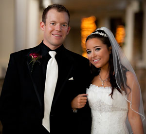 Regan Smith Megan Mayhew Wedding Photo