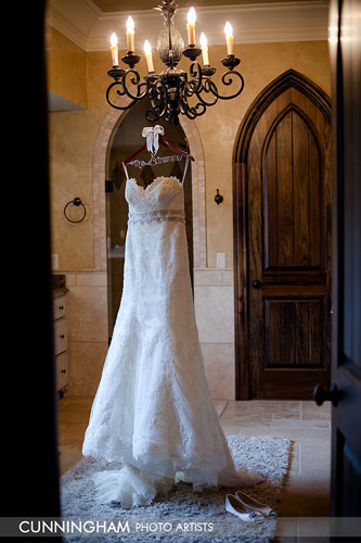 Ashley Stremme's wedding dress