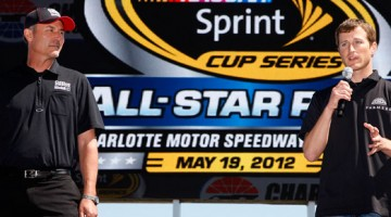 2012-Charlotte-March-NASCAR-Sprint-All-Star-Race-Announcement-Steve-Addington-Kasey-Kahne