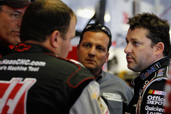 tony stewart, ryan newman