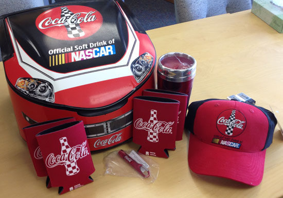 coca cola viewing party prize pack