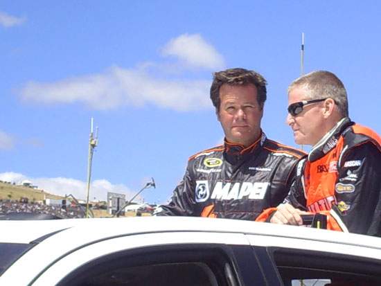 robby gordon, jeff burton