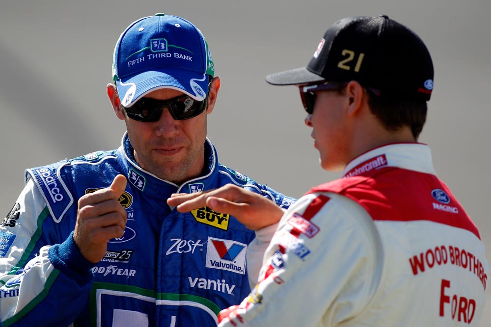 2012-Michigan-Aug-qualifying-Matt-Kenseth-Trevor-Bayne