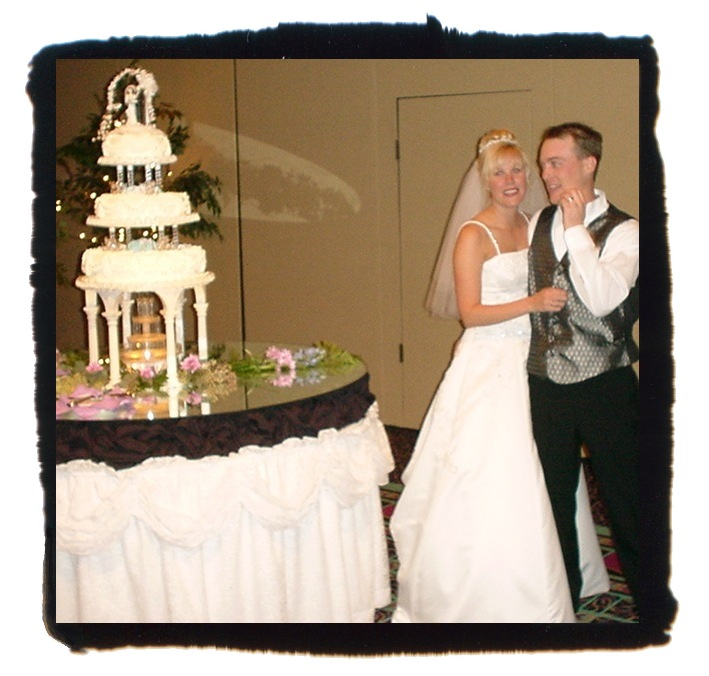 delana and kevin harvick wedding picture