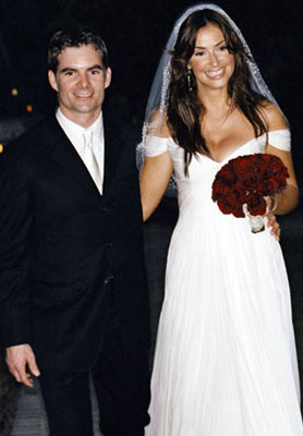 jeff gordon and ingrid vandebosch wedding picture