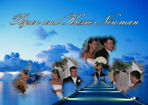 ryan and krissie newman wedding picture