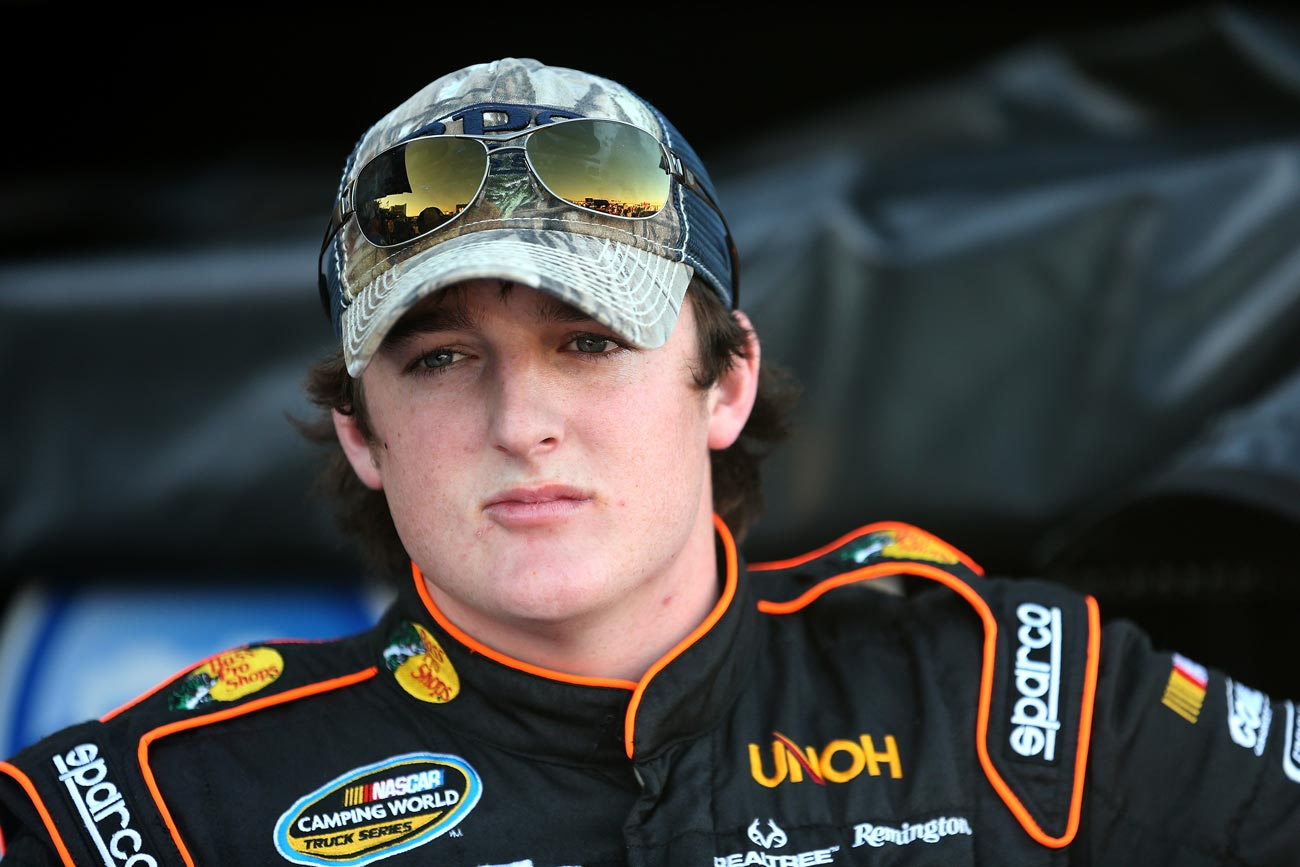 2012-Texas2-Ty-Dillon-In-Garage